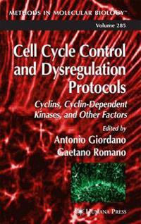 Cell Cycle Control and Dysregulation Protocols