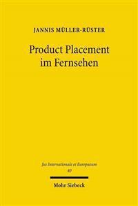 Product Placement Im Fernsehen