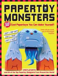 Paper toy monsters - make your very own amazing paper toys