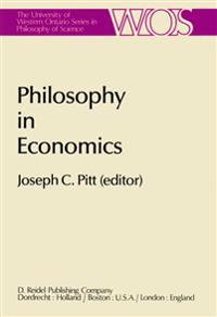 Philosophy in Economics