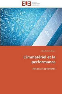 L'Immateriel Et La Performance