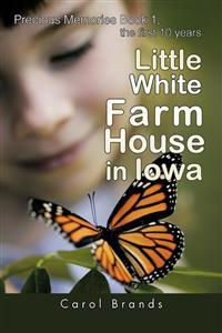 Little White Farm House in Iowa