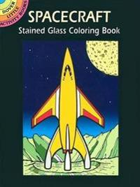 Spacecraft Stained Glass Coloring Book