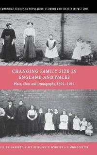 Changing Family Size in England and Wales
