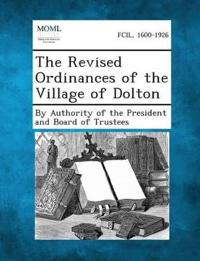 The Revised Ordinances of the Village of Dolton