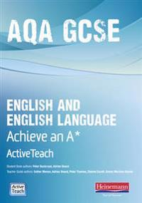 AQA GCSE English/English Language Active Teach BBC Pack: Achieve A* with CDROM