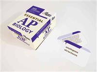Essential AP Biology (Flashcards): 450 Flashcards with Need-To-Know Terms for Key AP Biology Subject Areas