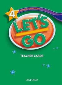 Let's Go 4 Teacher's Cards