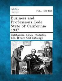 Business and Professions Code State of California 1937