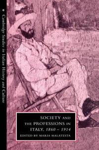 Society and the Professions in Italy, 1860-1914