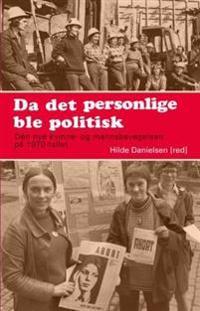 Da det personlige ble politisk -  pdf epub