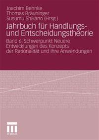 Jahrbuch fur handlungs- und entscheidungstheorie