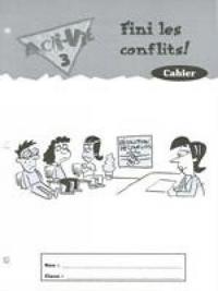 ACTI VIE TES 3 CONFLICT RES
