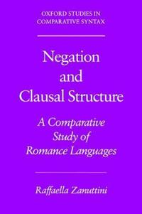 Negation and Clausal Structure