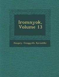 Irom¿nyok, Volume 13