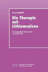 Die Therapie Mit Lithiumsalzen