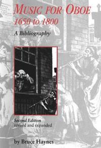 Music for Oboe, 1650-1800