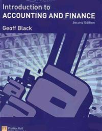 Introduction to Accounting & Finance