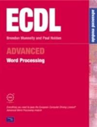 Ecdl Advanced Word Processing: For Microsoft Office 2000