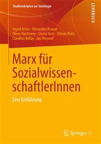 Marx F r Sozialwissenschaftlerinnen