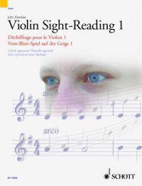 Violin Sight-Reading 1 / Dechiffrage Pour Le Violon 1 / Vom-Blatt-Spiel auf der Geige 1