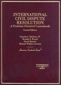 International Civil Dispute Resolution