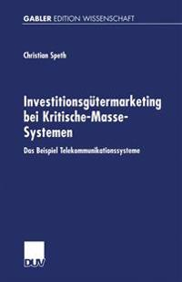 Investitionsgutermarketing Bei Kritische-masse-systemen