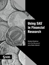 Using Sas in Financial Research