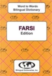 English-farsi & farsi-english word-to-word dictionary - suitable for exams