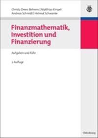Finanzmathematik, Investition Und Finanzierung