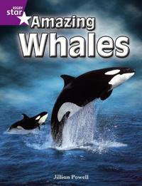 Rigby Star Independent Year 2 Purple Non Fiction: Amazing Whales Single