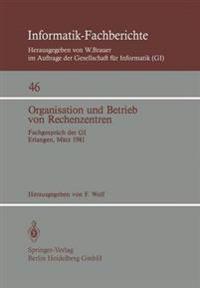 Organisation Und Betrieb Von Rechenzentren