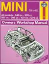 Haynes Mini Owners Workshop Manual, No. 527