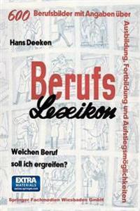 Berufs -- Lexikon