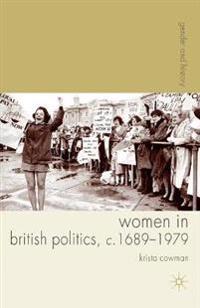 Women in British Politics, c. 1689-1979
