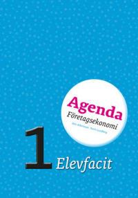 Agenda 1 Företagsekonomi Elevfacit