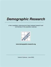 Demographic Research, Volume 6