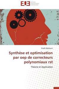 Synth�se Et Optimisation Par Oep de Correcteurs Polynomiaux Rst