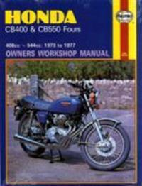 Honda Cb400 and CB 550 Fours Owners Workshop Manual, No. M262
