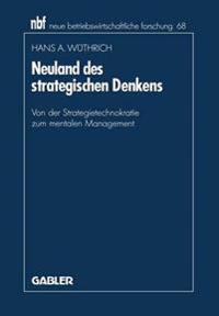 Neuland Des Strategischen Denkens