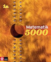 Matematik 5000 Kurs 1a Gul Lärobok