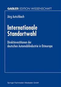Internationale Standortwahl