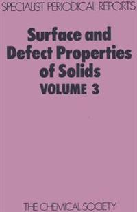 Surface and Defect Properties of Solids