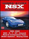 Honda-Acura NSX Ultimate Portfolio: 1989-2005