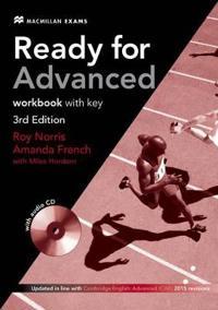 Ready for Advanced (CAE) (3rd Edition) Workbook with Key & Workbook Audio CD