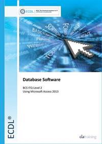 Ecdl database software using access 2013 (bcs itq level 2)