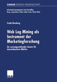 Web Log Mining ALS Instrument Der Marketingforschung
