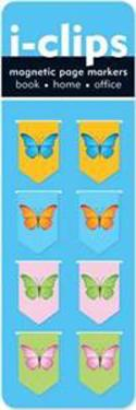 Butterflies I-clips Magnetic Bookmarks