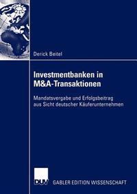 Investmentbanken in Manda-Transaktionen