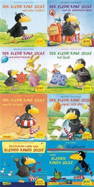 Pixi-Serie Nr. 193: Der kleine Rabe Socke. 64 Exemplare